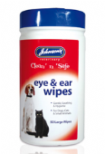 Johnsons Clean 'n' Safe Ear & Eye Wipes - 6 packs